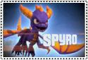 Skylanders Spyro Stamp by sapphire3690
