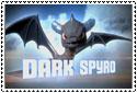 Skylanders Dark Spyro Stamp by sapphire3690