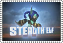Stealth Elf Stamp by sapphire3690