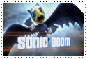 Sonic Boom Stamp by sapphire3690