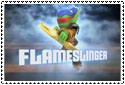 Flameslinger Stamp by sapphire3690