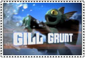 Gill Grunt Stamp by sapphire3690