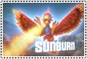 Sunburn Stamp by sapphire3690