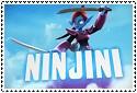 Ninjini Stamp by sapphire3690