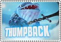 Thumpback Stamp by sapphire3690