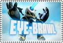 Eye-Brawl Stamp by sapphire3690