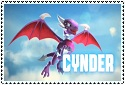 Series 2 Skylanders Cynder Stamp by sapphire3690