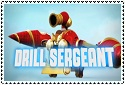 Series 2 Drill Sergeant Stamp by sapphire3690
