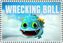 Series 2 Wrecking Ball Stamp by sapphire3690