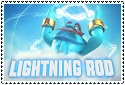 Series 2 Lightning Rod Stamp by sapphire3690