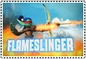 Series 2 Flameslinger Stamp by sapphire3690