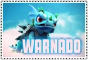 Giants Series 1 Warnado Stamp by sapphire3690