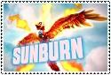 Giants Series 1 Sunburn Stamp by sapphire3690
