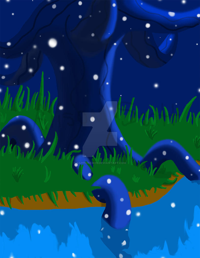 Midnight Star Tree by sapphire3690