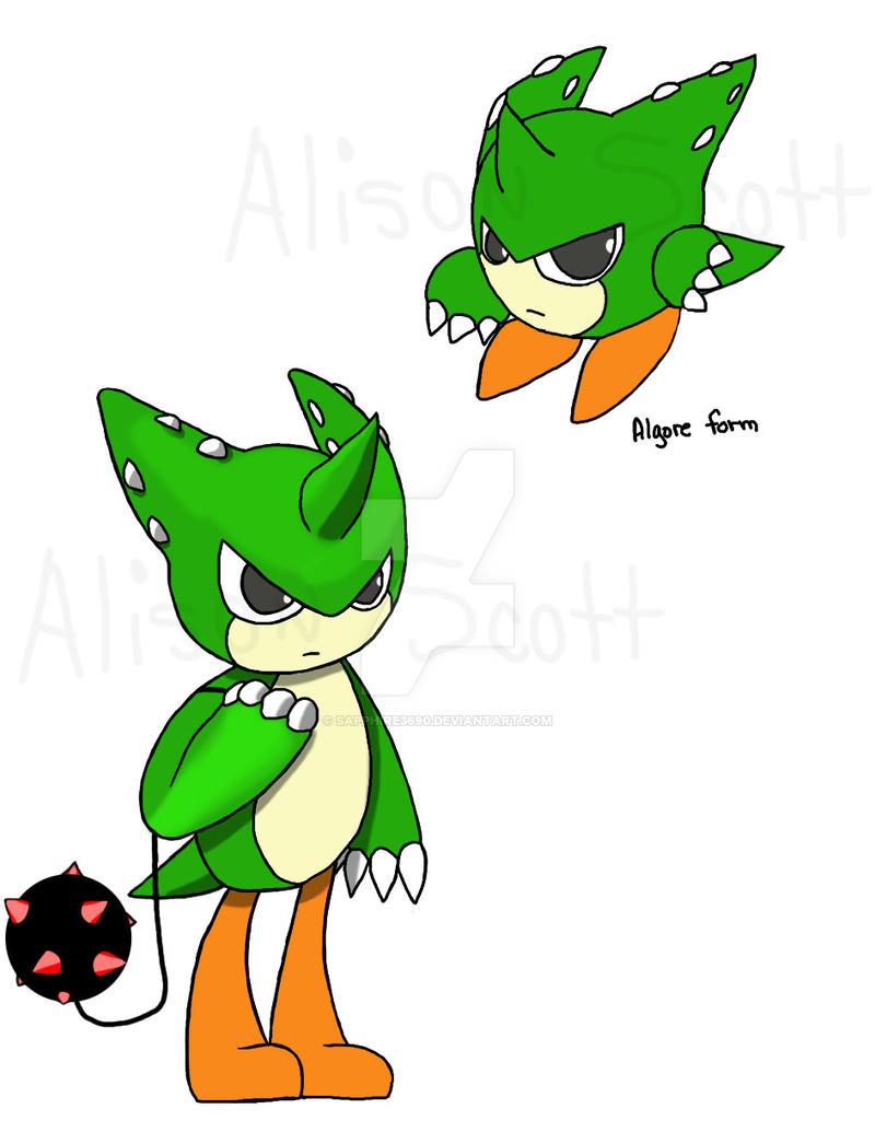 Klonoa Fan Character - Algore