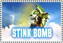 Stink Bomb Stamp by sapphire3690
