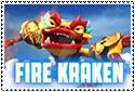 Fire Kraken Stamp by sapphire3690