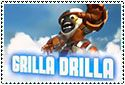 Grilla Drilla Stamp by sapphire3690