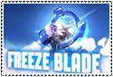 Freeze Blade Stamp by sapphire3690