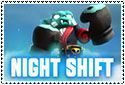 Night Shift Stamp by sapphire3690