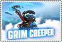 Grim Creeper Stamp by sapphire3690