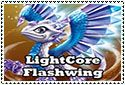 LightCore Flashwing Stamp by sapphire3690