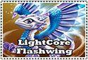 LightCore Flashwing Stamp by sapphire3690