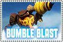 Bumble Blast Stamp by sapphire3690