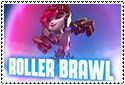 Roller Brawl Stamp by sapphire3690