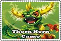 Thorn Horn Camo Stamp by sapphire3690