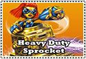Heavy Duty Sprocket Stamp by sapphire3690