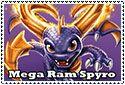 Mega Ram Spyro Stamp by sapphire3690