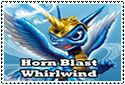 Horn Blast Whirlwind Stamp by sapphire3690