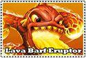 Lava Barf Eruptor Stamp by sapphire3690