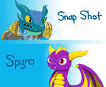 Skylanders Reptile Mascots