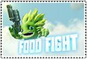 Food Fight Stamp by sapphire3690
