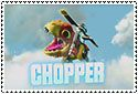 Chopper Stamp by sapphire3690