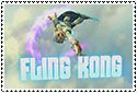 Fling Kong Stamp by sapphire3690