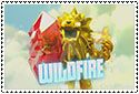 Wildfire Stamp by sapphire3690