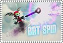 Bat Spin Stamp by sapphire3690