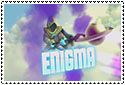 Enigma Stamp by sapphire3690
