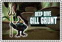 Deep Dive Gill Grunt Stamp by sapphire3690