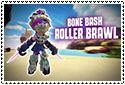 Bone Bash Roller Brawl Stamp by sapphire3690