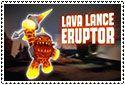 Lava Lance Eruptor Stamp by sapphire3690