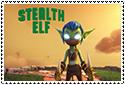 Academy Stealth Elf Stamp by sapphire3690