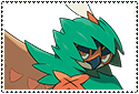 Decidueye Stamp by sapphire3690
