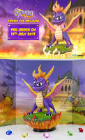First4Figures Spyro Statue Unveiled