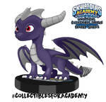 Skylanders Academy Fanart Statue: Dark Spyro