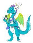 Spyro OC - Crystal Mage Alison