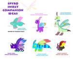 Spyro Insect Companion Ideas